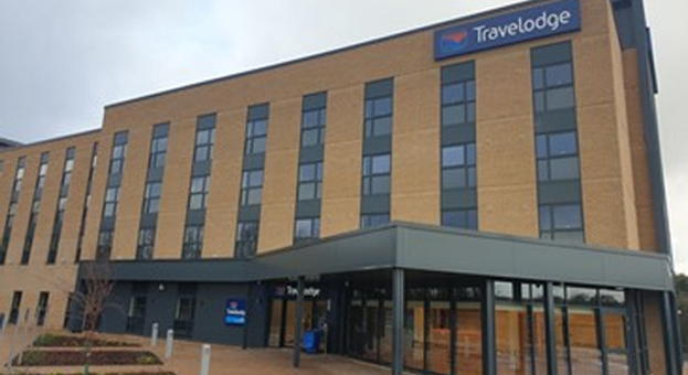 Travelodge Hotel & Costa Coffee Drive Thru, Harlequin Park, Emersons Green, Bristol