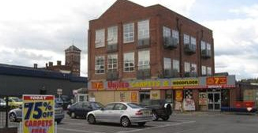 United Carpets, Elizabeth Court, Green Street, Kidderminster, DY10 1JF